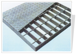 Bar Type Welded Galvanized Steel Grating Panels